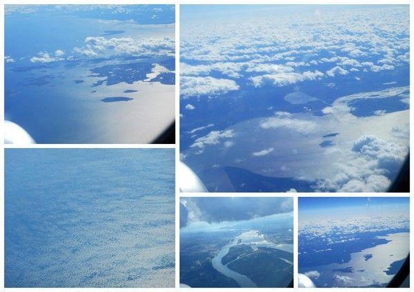 Survol de Goose Bay - Labrador .